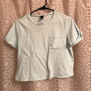 Wild Fable Pocket Cropped Tee